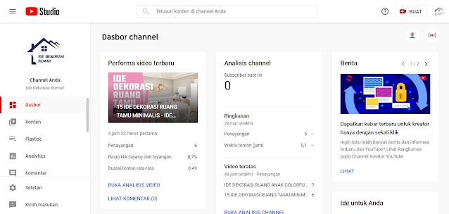 Cara Menyembunyikan Jumlah Subscriber Youtube Agar Tidak Kelihatan
