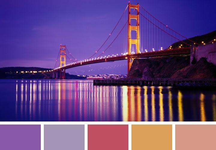 Golden Gate Color Combos