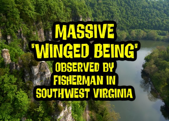 Massive 'Winged Being' Observed by Startled Fisherman in Southwest Virginia