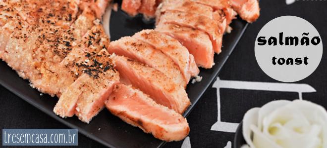 receita de sashimi de salmao grelhado