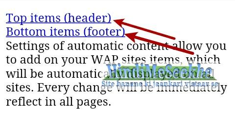 Wapka website Header-Footer ko use kare aur content automatic show kare. 5