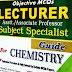 Lecturer Chemistry Tests Preparation Material Books & PPSC Solved MCQs Past Papers