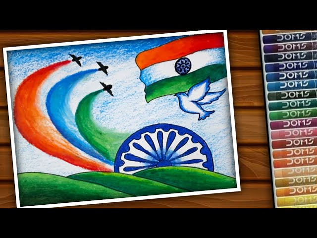 Drawing ideas for independence day