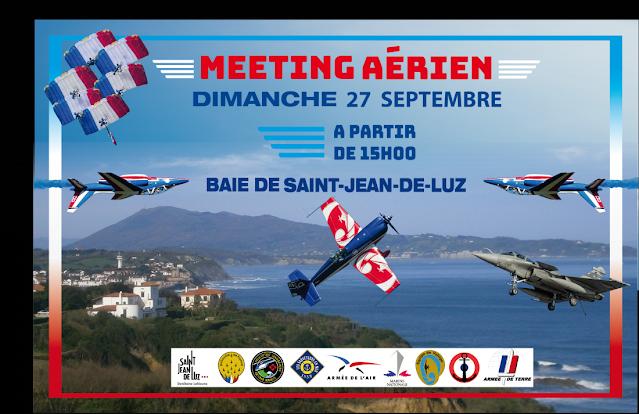 In Saint Jean de Luz. Airshow.