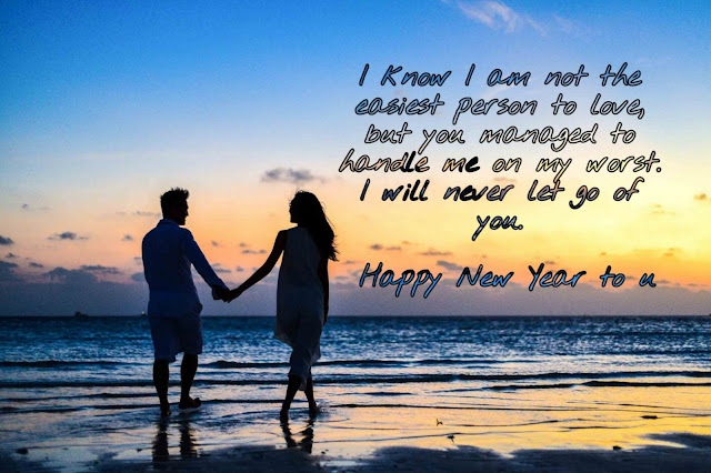 Happy New Year Greetings for Girlfriend 2020