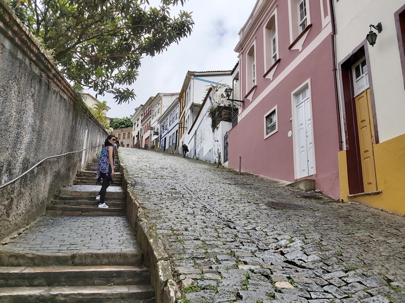 Rua das escadinhas, Ouro Preto