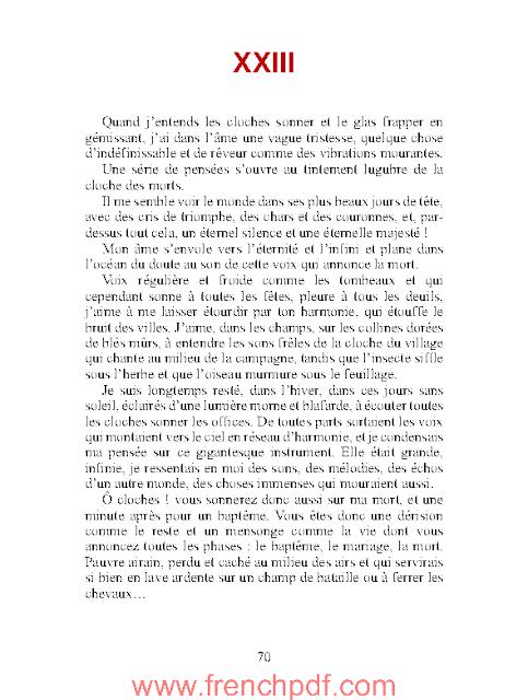 Mémoires d'un fou de Gustave Flaubert