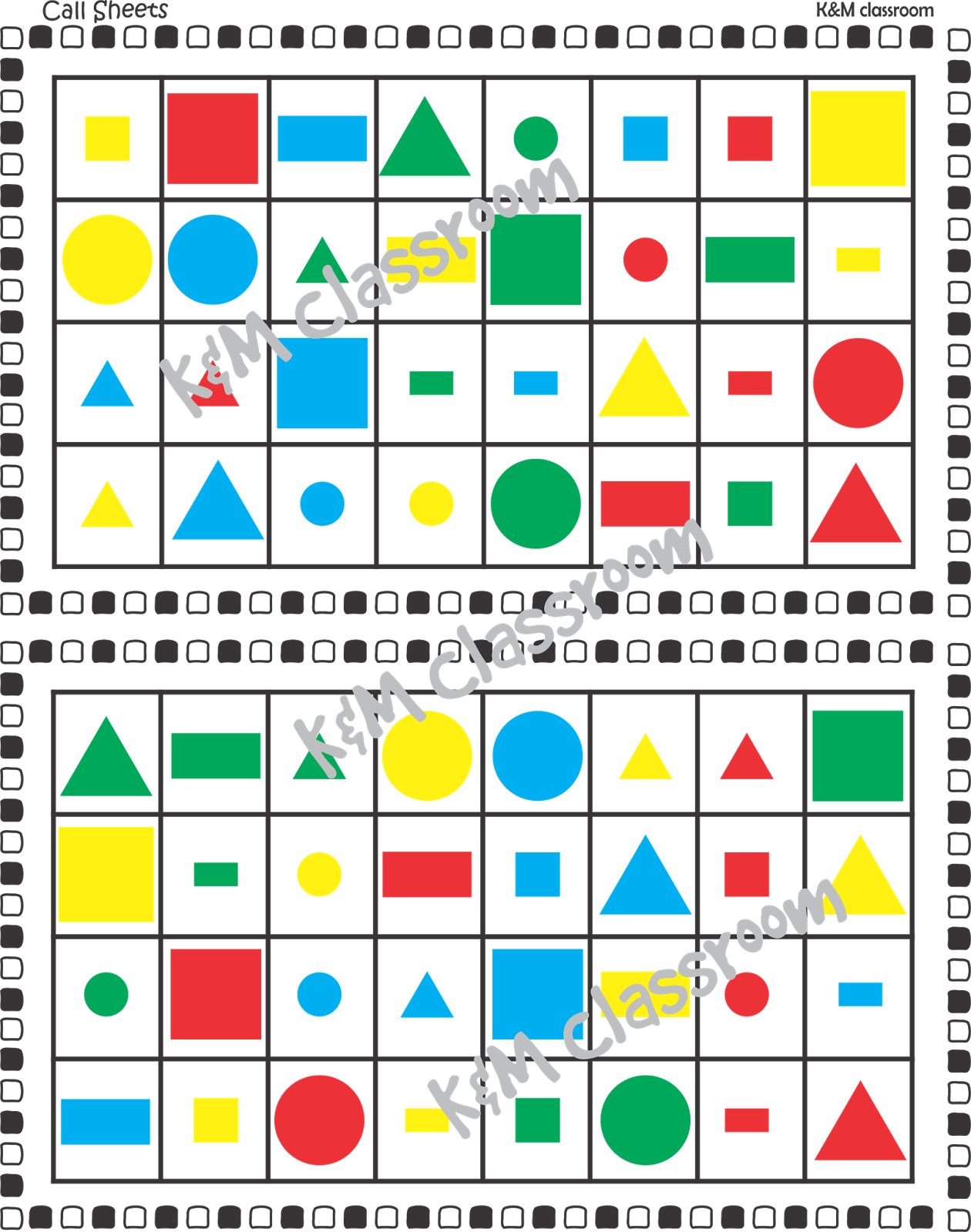 Km Classroom 2d Shapes Activities Worksheets Posters