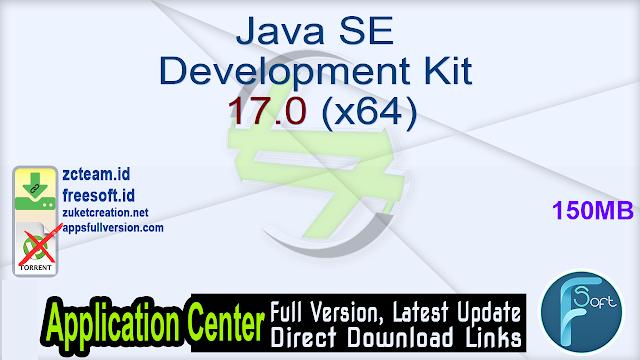 Java SE Development Kit 17.0 (x64)