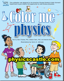 American Physical Society APS pdf| color me physics