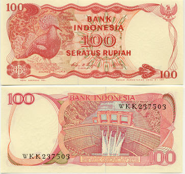 Tiền con gà indonesia