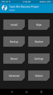 TWRP Recovery for infinix hot 4
