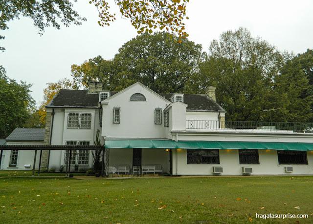 Fachada posterior da mansão de Graceland