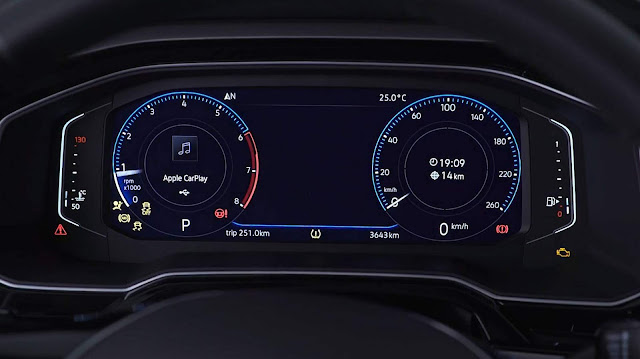 VW Polo 2018 Highline - Smartcluster - painel digital