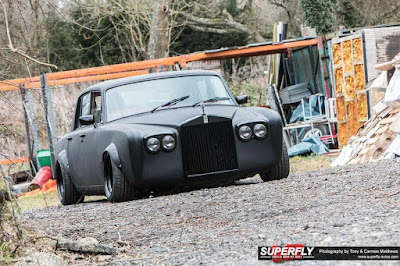 Classic Rolls-Royce Mafia Version Modification Front