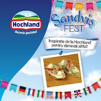 Castiga un grill pentru sendvisuri plus un set de produse Hochland
