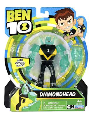 BEN 10 - Diamondhead | Diamantino : Figura de acción | Muñeco | Serie Televisión Boing - Videojuegos 2017 | COMPRAR JUGUETE - TOYS - JOGUINES  caja