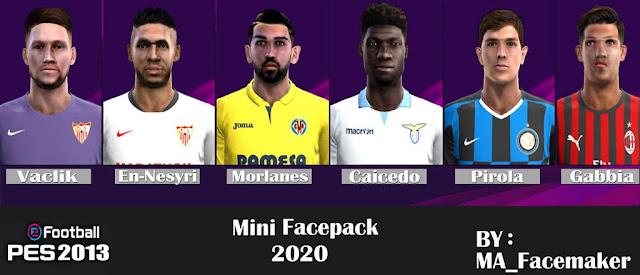 Mini Facepack #1 2020 PES 2013