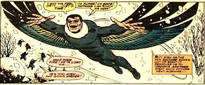 Amazing Spider-Man #48, john romita, blackie drago, the new vulture escapes prison by flying away in his vulture suit