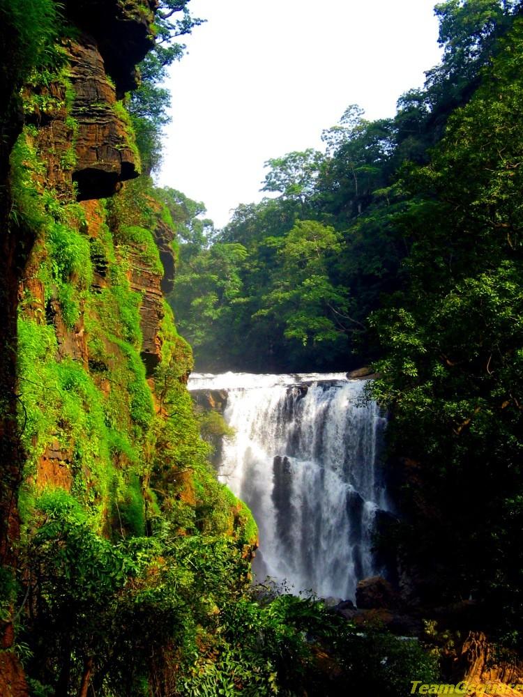 Sathodi Waterfalls, Yellapura, Uttara Kannada, Karnataka