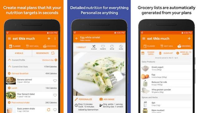 أفضل تطبيق لتنظيم وتخطيط الوجبات الغذائية للاندرويد