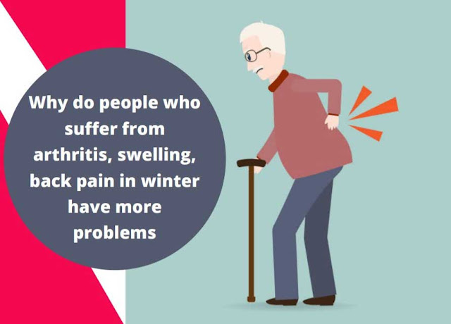 Why do people who suffer from arthritis, swelling, back pain in winter have more problems