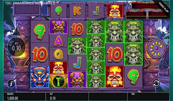Main Gratis Slot Indonesia - Tiki Treasures Megaways (Blueprint Gaming)