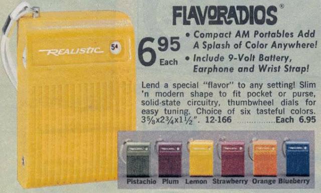 Flavoradios