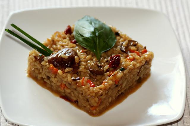 risotto de hongos lazyblog