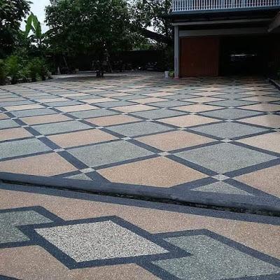 Batu Sikat Motif Diagonal