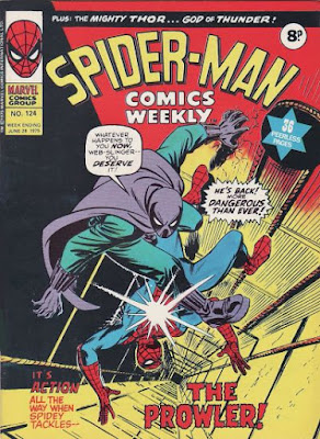 Spider-Man Comics Weekly #124, the Prowler