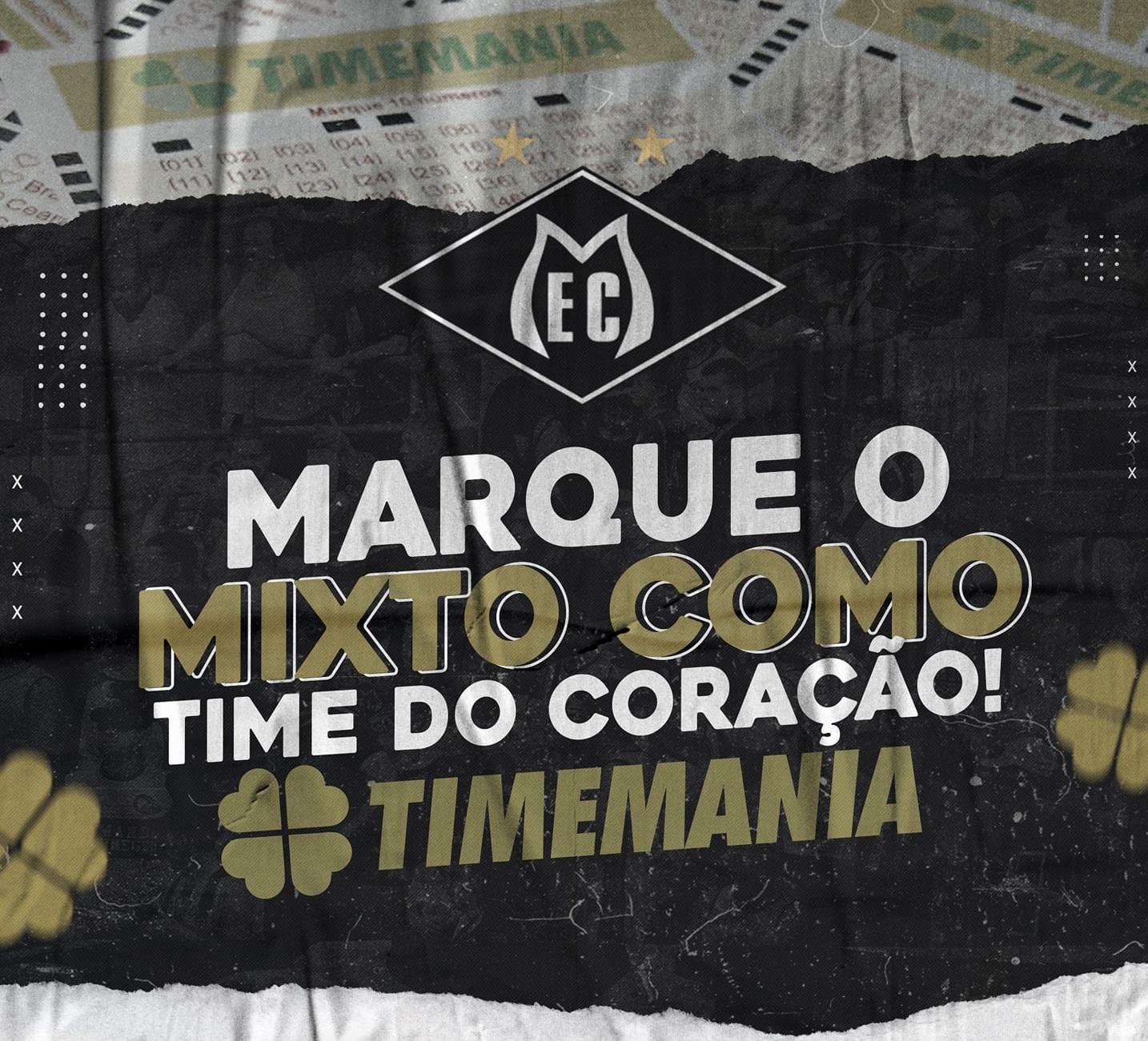 Campanha do Mixto para a Timemania