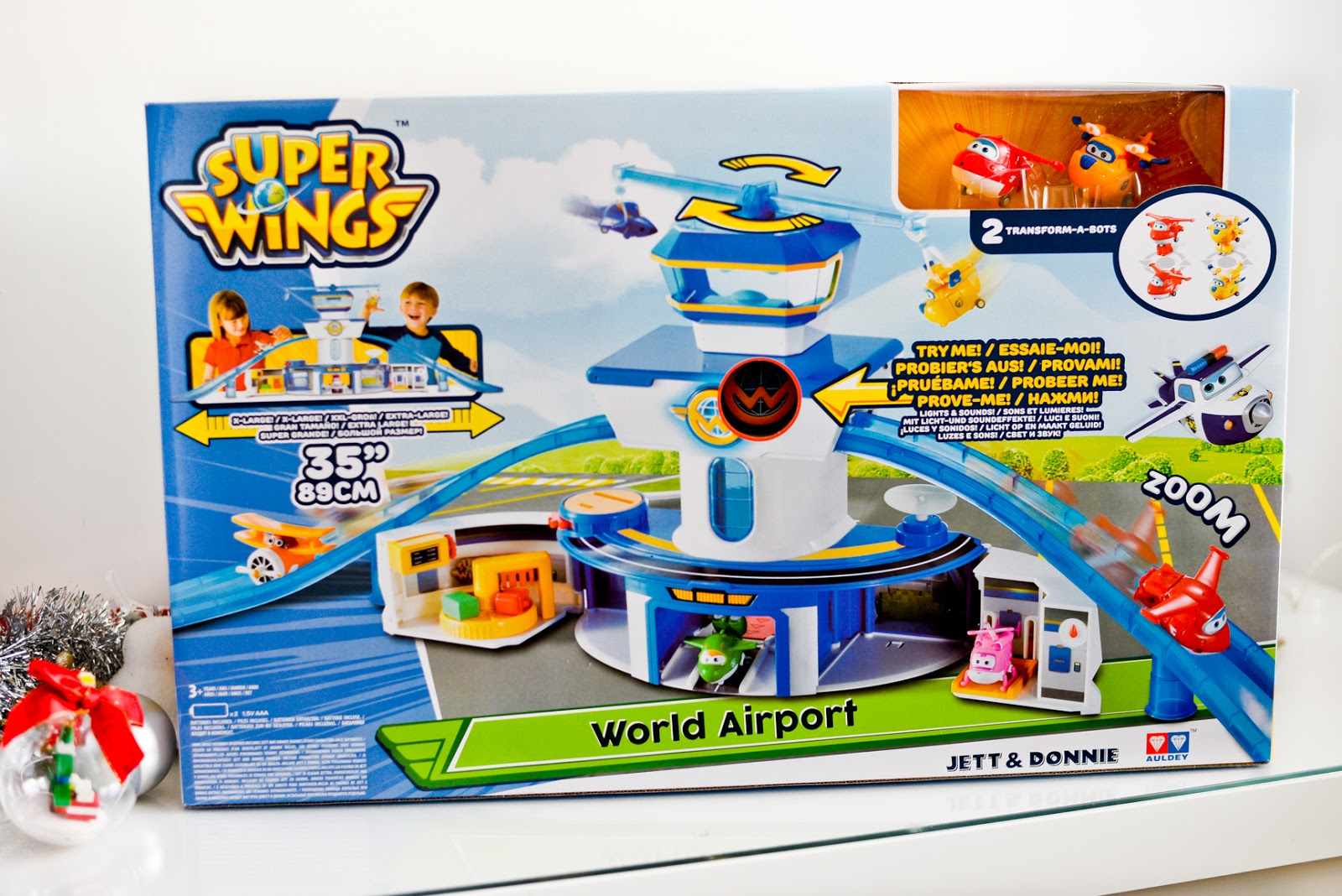 super wings airport control tower
