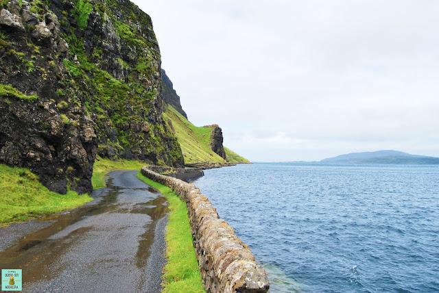 Loch na Keal parte norte, isla de Mull