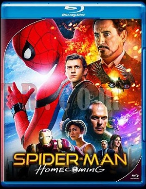 Spider Man Homecoming 2017 Dual Audio 720p BRRip 700Mb ESub HEVC x265