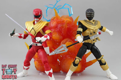 Power Rangers Lightning Collection Mighty Morphin Red Ranger & Zeo Gold Ranger