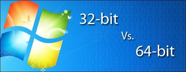 ما الفرق بين Windows 32 بت و 64 بت؟