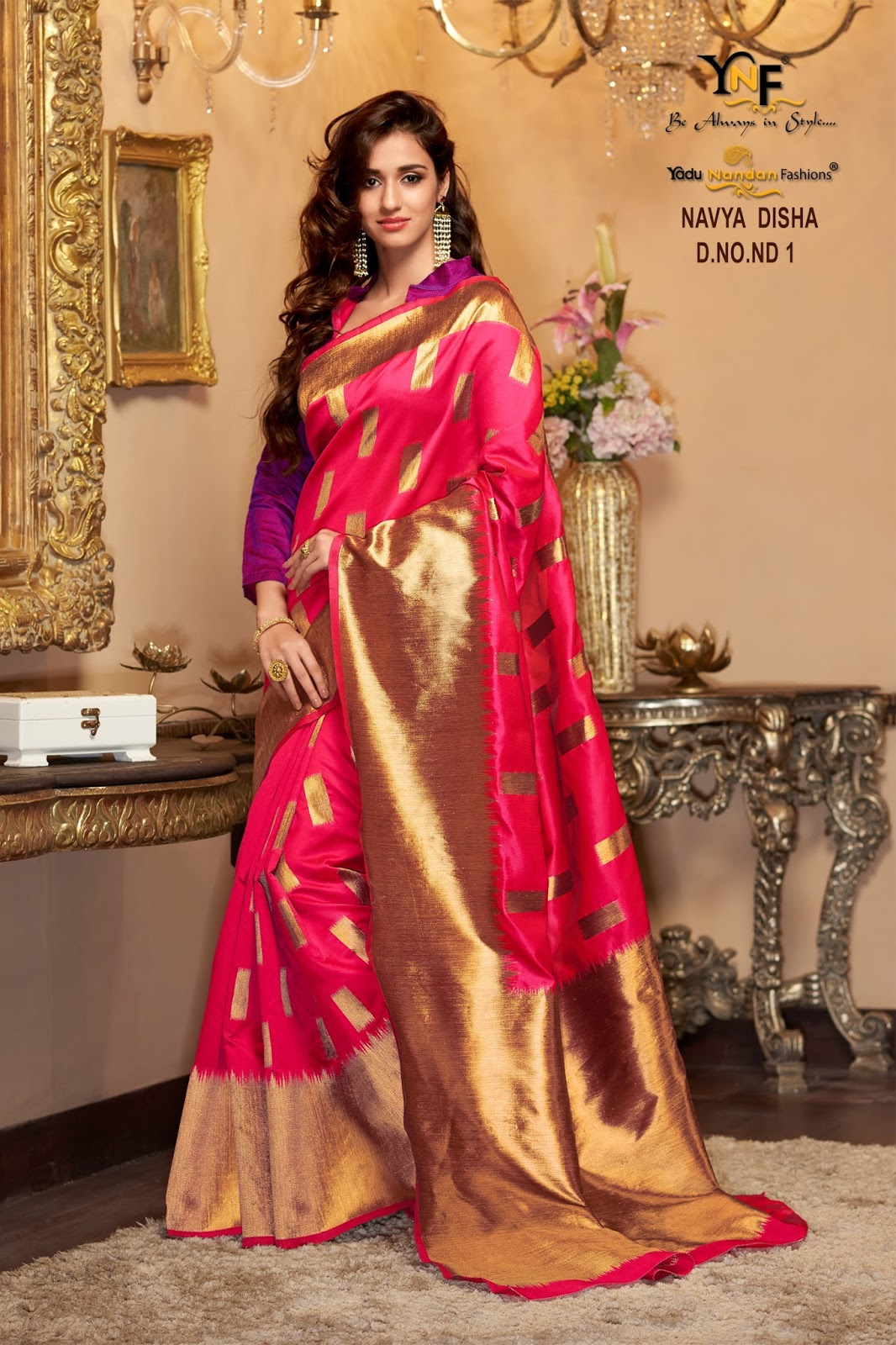 Navya Disha 1 – Fashion Wear Cotton Silk Saree Buy Online