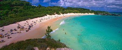 Playas raras. Costa de las Bermudas