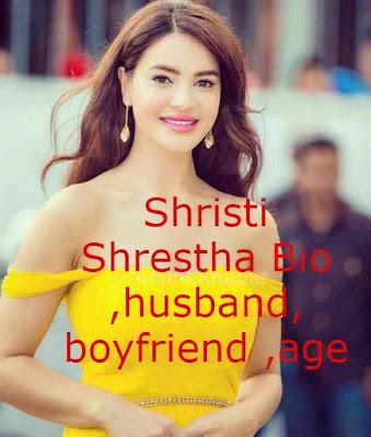Everything you want to know about  Shristi Shrestha Bio husband boyfriend age