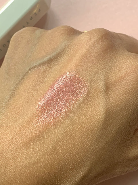 Fenty Beauty Slip Shine Sheer Shiny Lipstick In Retro Rose Review, Photos, Swatches