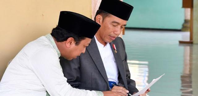 Kunjungan Jokowi ke Pesantren dan Kiai Ternyata Cuma Bakal Sia-sia, Kenapa?