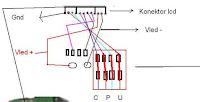 Jalur lcd Nokia 1280 dan solusinya