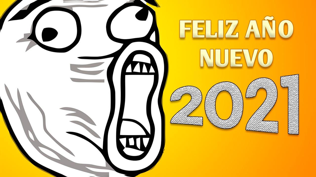 feliz año nuevo 2021 portada