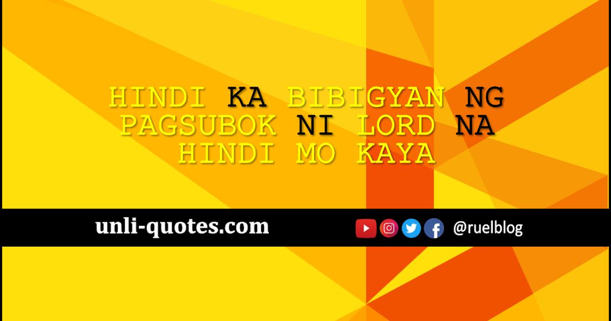 Pagsubok Quotes 2