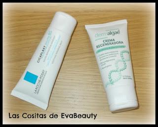 Crema Cicaplast La Roche-Posay y Crema Regeneradora Dermalgae