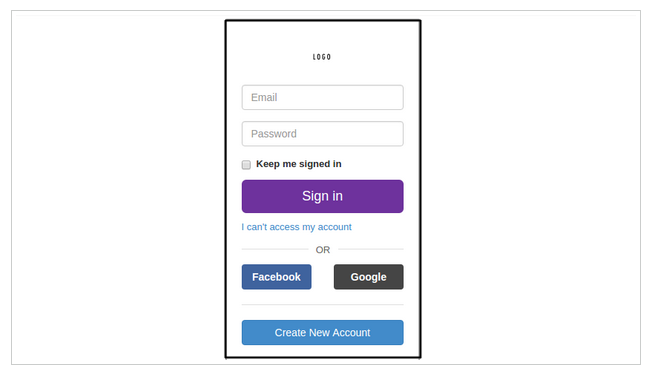 Cara Membuat Desain Form Login Seperti Yahoo Dengan Bootstrap