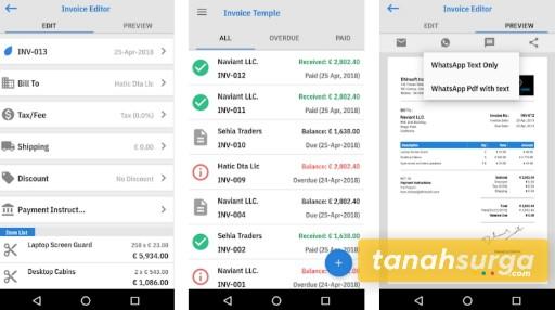 Aplikasi pembuat invoice 2020