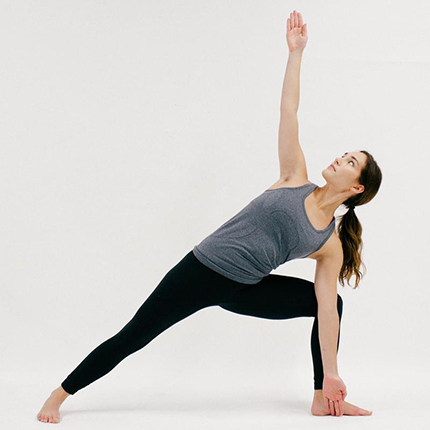 Extended Side Angle (YOGA)