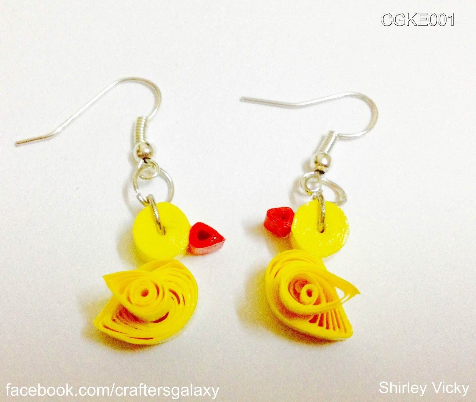 Shirley Vicky: Kids Quilled Earring